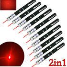 10x Mini Red Laser Pointer Pen Star Pattern Single Point 650nm AAA Red Lazer Pen