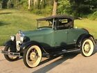 Model A -MOSS GREEN  CLASSIC WITH  RUMBLE SEAT- 1929 Ford Model A for sale!