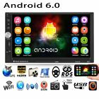 """Android 6.0 WIFI 7"""" Double 2DIN Car Radio Stereo MP5 Player GPS Navigation NEW"""