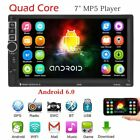 """7"""" Android 6.0 2DIN Car MP5 Player Radio Stereo Quad Core 3G Bluetooth WIFI GPS"""