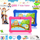 7'' Tablet 16G HD Android 4.4 KitKat Dual Camera WiFi Quad Core For Kids Gift OY