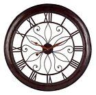 Imax 1003 Oversized Wall Clock - Open Back Round Wall Clock Analogue Clock fo...