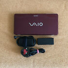 "SONY VAIO VGN-P11Z Red Netbook 8.0""/Atom Z520 1.33GHz/2GB/60GBHDD/WiFi/3G/BT"