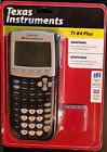 Texas Instruments TI-84PLUS Graphing Calculator, new sealed, USB cable, apps