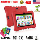 """7"""" Tablet Bluetooth Android 7.1 4Core 16GB 2Cam 2800mAh PC Pad For Kids Chidren"""