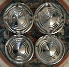1960 FORD FOMOCO GALAXIE HUBCAPS WHEEL COVERS CENRER CAPS ANTIQUE VINTAGE