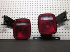 Grote 5371 5370 Ford RV Trailer Brake Tail light Set with License Plate Holder