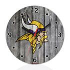 Minnesota Vikings Football Fans Wall Clock Home Office Room Decor Gift
