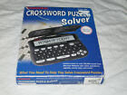Franklin Merriam Webster CWP-206 Crossword Puzzle Solver COMPLETE IN BOX