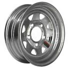 "Trailer Wheel Rim RV Camper Boat Trailers Wheels Galvanized Steel 5-Hole 12"" New"