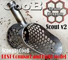 Beach Sand Scoop CooB Small Hunting Detector Tool SCOUT v2 Stainless Steel