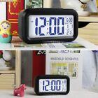 Digital Snooze LED Alarm Clock Backlight Time Calendar Thermometer Temperature