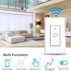 1 Gang WIFI Wireless Smart Home Wall Light Switch Works w/ Alexa Google IFTTT US