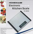 HOMEIMAGE Professional Stainless steel surface Digital Kitchen Scale with touch