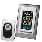 Digital LCD Wireless Weather Station Thermometer Clock Calendar Indoor Outdoor