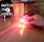Powerful Military Red Laser Pointer 650nm Visible Beam Wicked Burning Lazer Pen