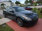 2009 Infiniti G G37x Coupe 2D 2009 INFINITI G G37x Coupe 2D 81259 Miles Blue Coupe V6, 3.7 Liter Automatic