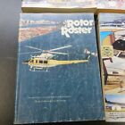 (4) Rotor Roster Civil Helicopter Reference Books 1989 1991 1995 1996