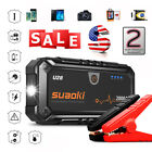 Suaoki U28 2000A Peak Jump Starter USB Power Bank LED Light SOS for 12V Car Boat