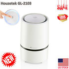 Portable LED Home Portable Air Purifier HEPA Filter Essential Oil Diffuser US