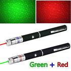 2in1 Star Pattern Laser Pointer  Visible Beam 532/650nm Green Red Mini Lazer Pen