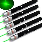 5PC 1mw 532nm Portable Pet Toy Green Laser Pointer Pen Visible Beam AAA Lazer US