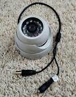 Interlogix TVD-TIR6-SR Color IR Night Dome Security Camera 12V DC  Fast Shipping