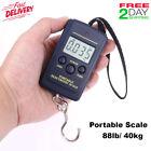 Bascula Digital 40kg 88lb Báscula Portátil Multifuncionales Con Pantalla LCD