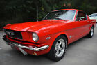1966 Ford Mustang  1966 Ford Mustang Fastback * A Code 4-Speed * Signalflare Red * Pro Restoration