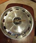 "Vintage Mercury Hubcap Clock Works Great! Man Cave! 16"" Aluminum! Very Cool!"