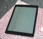 READ! Apple iPad Air 2 64GB, Wi-Fi, 9.7in - Space Gray MH2M2LL, A1567 Unlocked