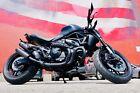 2015 Ducati Monster  Custom Matte Black Ducati Monster Naked 821 Dark Edition w/ Carbon Fiber Exhaust