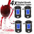 (4) High Sensitive Breathalyzer Accurate Alcohol Tester LED Digital Detector