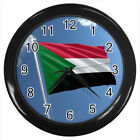 Sudan Flag #E01 Wall Clock