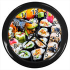 Sushi Food Japanese #E01 Wall Clock