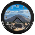 Teotihuacan Mexico ancient Mesoamerican city #E01 Wall Clock