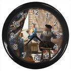 The Art of Painting Johannes Vermeer #E01 Wall Clock