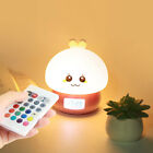 1PC Nightlight Rabbit Color Changing Nightlight With Alarm Clock for Children