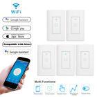 5Pcs Smart WIFI Light Wall Switch Works w/ Alexa Google Home IFTTT App Cntrl USA