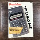 Franklin Spelling Ace Ps-99 Handheld Merriam Websters Dictionary