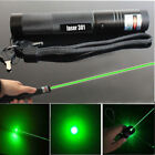 High Power Military Green Laser Pointer Visible Beam Pen Zoom Burn Focus 532nm