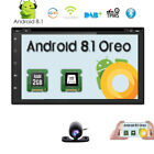 """7"""" Double 2Din Touch Quad Core Android 8.1 Car Stereo DVD Player GPS Navi Radio"""