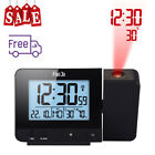 Wareless Projection Alarm Clock Indoor Temperature And Humidity Time Projection