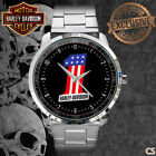 New Harley-Davidson Number One Logo Sport Metal Watch