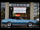 """1973 Mustang 2-Door Convertible 302 V8 w/Auto Tranmission """"Fact 1973 Ford Mustang 2-Door Convertible 302 V8 w/Auto Tranmission """"Fact 75010 Miles"""