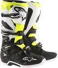 Alpinestars Tech 7 Boots Enduro Graphics Size 7 Black/White/Yellow