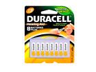 McK Duracell Zinc Air Battery 13 Cell 1.4V Disposable 8 Pack