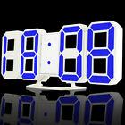 Famirosa Modern Style 3D Digital Table Alarm Clock With Night Luminance Display