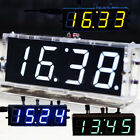 4-Digit LED DIY Digital Electronic Micro Controller Kit Clock Time Therm GZD