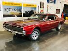 1967 Cougar -289CI-AUTO-TINTED WINDOWS-A/C RESTORED RELIABLE V 1967 Mercury Cougar, Burgundy/Maroon with 70,718 Miles available now!